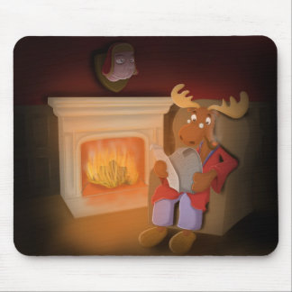 lord moose mouse pad