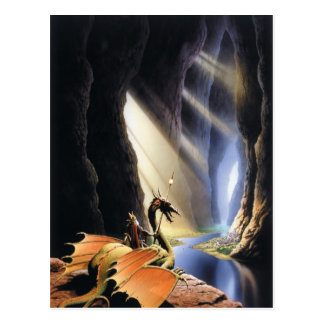 Lord of the Caverns Postcard