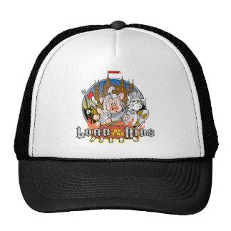 LORD OF THE RIBS BBQ TRUCKER HATS