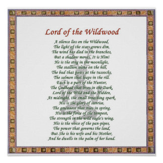 Lord of the Wildwood Poster