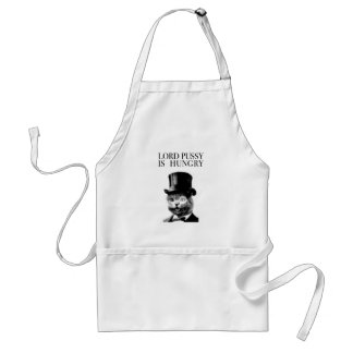 LORD PUSSY IS HUNGRY STANDARD APRON