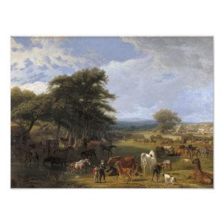 Lord River s Horse Farm oil on canvas Art Photo