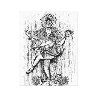 Lord Shiva Canvas Print