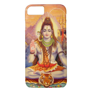 Lord Shiva Meditating iPhone Case