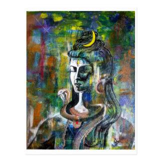 Lord Shiva postcard