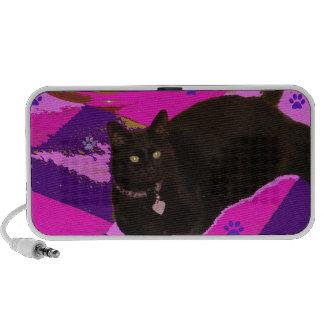Lordie with Purple Paw Prints Speaker
