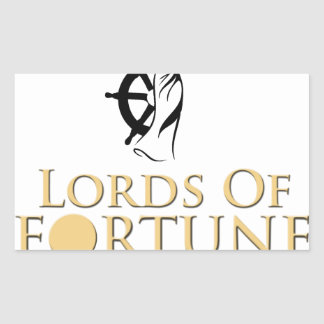 Lords Of Fortune Expeditionware Rectangular Sticker