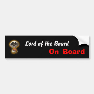 Lords of the Boards Bumper Sticker