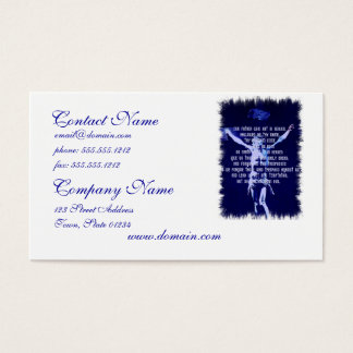 Lords Prayer Business Cards