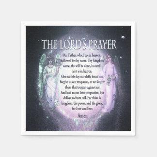 Lord's Prayer Disposable Serviette