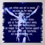Lords Prayer Poster