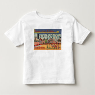 Lordsburg, New Mexico - Large Letter Scenes Toddler T-Shirt