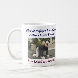 Loren Bussert Retirement Basic White Mug