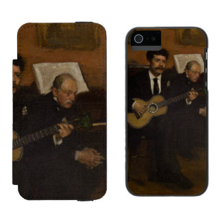 Lorenzo Pagans and Auguste de Gas by Edgar Degas Incipio Watson™ iPhone 5 Wallet Case