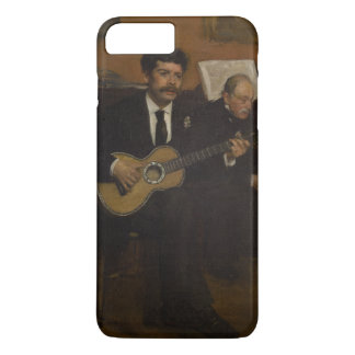 Lorenzo Pagans and Auguste de Gas by Edgar Degas iPhone 7 Plus Case