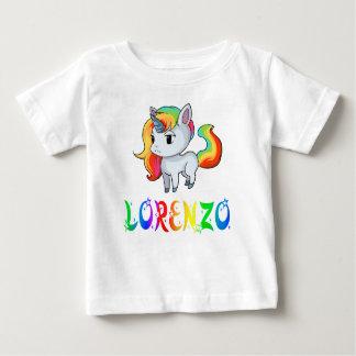 Lorenzo Unicorn Baby T-Shirt