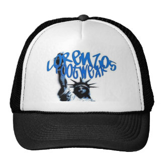 lorenzos black lid trucker hats