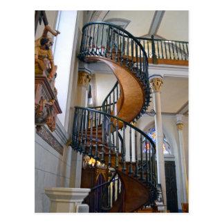 Loretto  Chapel Miraculous Stairway, Santa Fe, NM Postcard