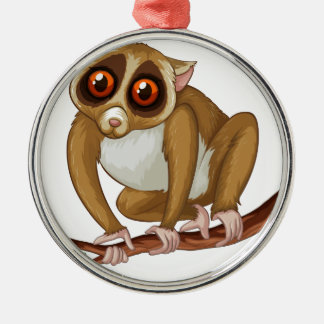 Loris Metal Ornament
