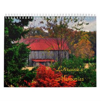 Lorraine's Memories Calendars