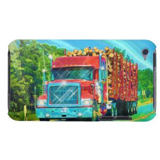 Lorry Driver Big Rig Heavy Trucker Art iPod Case-Mate Cases