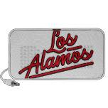 Los Alamos in red Notebook Speakers