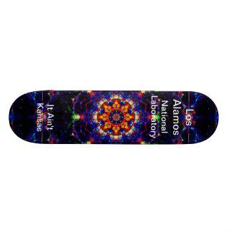 Los Alamos - Lightform of Heavenly Delight Custom Skateboard