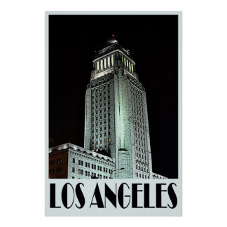 Los Angeles 36 x 24 Poster