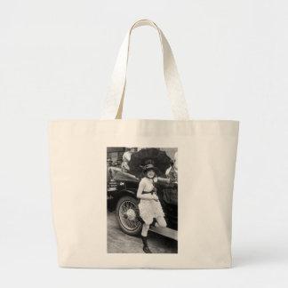Los Angeles Bather, early 1900s Jumbo Tote Bag