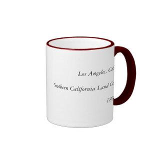 Los Angeles CA 1891 Coffee Mugs