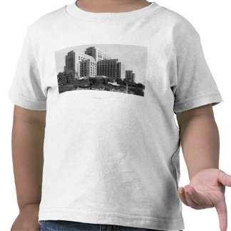 Los Angeles, CA View of General Hospital Tee Shirts