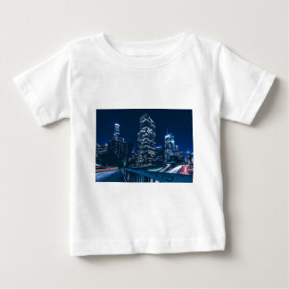 Los Angeles California City Urban Buildings Baby T-Shirt