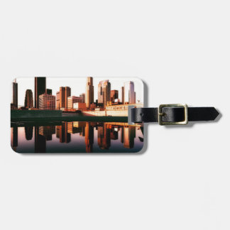 Los Angeles California City Urban Buildings Luggage Tag