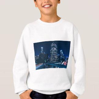 Los Angeles California City Urban Buildings Sweatshirt