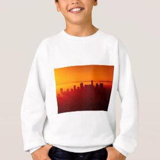 Los Angeles California City Urban Skyline Sweatshirt