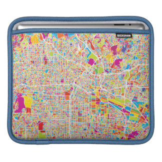 Los Angeles, California | Colorful Map iPad Sleeve