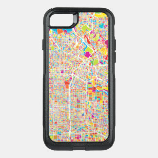 Los Angeles, California | Colorful Map OtterBox Commuter iPhone 8/7 Case