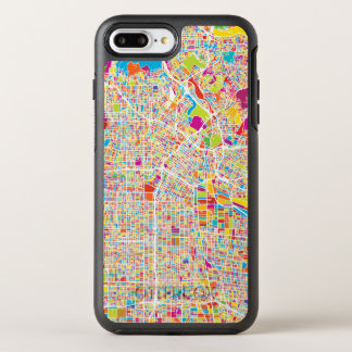 Los Angeles, California | Colorful Map OtterBox Symmetry iPhone 8 Plus/7 Plus Case