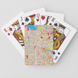 Los Angeles, California | Colorful Map Poker Deck