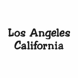 Los Angeles California Customizable Shirt !!! Polo Shirt