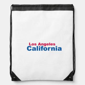 Los Angeles, California Drawstring Backpack