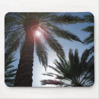 Los Angeles California Palm Tree Sunset Mousepad