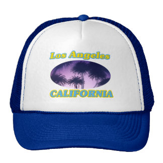 """Los Angeles California Palm Trees"" Hat"