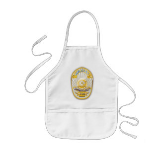 Los Angeles California Police Badge. Kids Apron