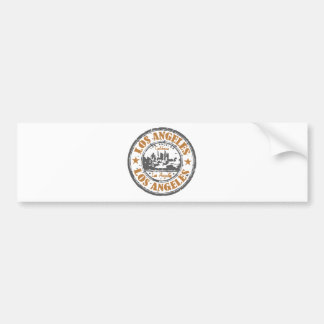 Los Angeles California Pride Seal Bumper Sticker