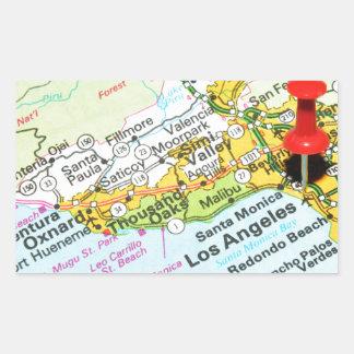 Los Angeles, California Rectangular Sticker