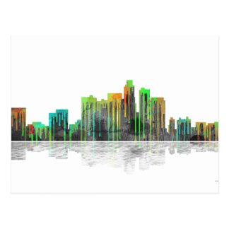 Los Angeles California Skyline Postcard