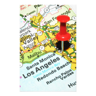 Los Angeles, California Stationery