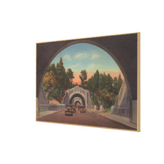 Los Angeles CATunnel View of Elysian Park Canvas Prints
