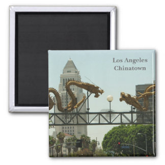 Los Angeles Chinatown Magnet! Magnet